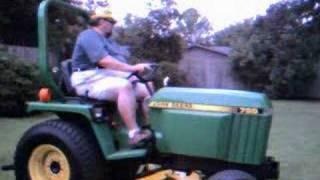 john deere 755 compact utility tractor 1998