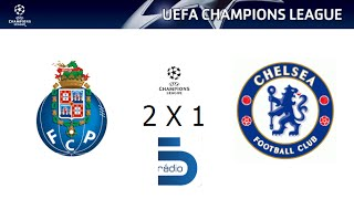 Video Gol Pertandingan FC Porto vs Chelsea