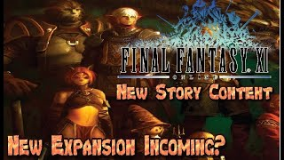 Final Fantasy XI NEW Story Content 2020 New Expansion in the Works?