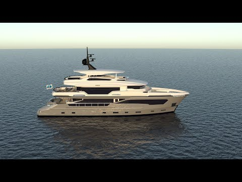Meet 34m Superyacht KANDO. AvA Yachts Official.
