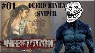 Quero Sniper Sr. Super Zombie (Infestation) #01