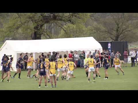 Easter Series 2014 - European Legion v AFL Academy Q1