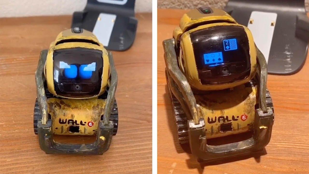 Woman Creates 'Wall E' Robot Desk Pet
