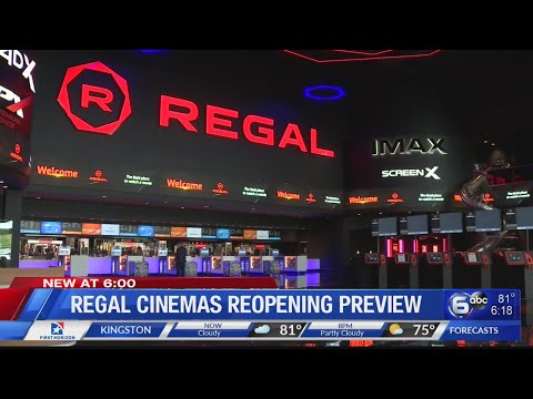 Regal Cinemas Reopening This Weekend
