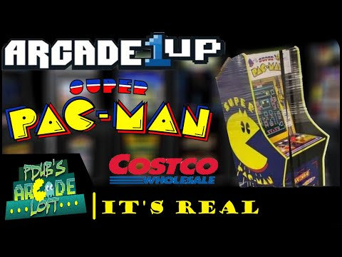 Arcade1Up Super Pac-Man Edition is REAL & at Costco Now! from PDubs Arcade Loft
