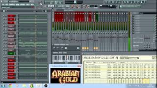 Modern Talking - Arabian Gold (FL Studio 7 Instrumental Version)