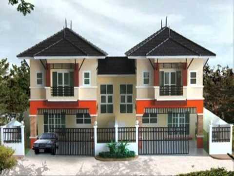 บ้านแฝดเอื้ออาทร หมู่บ้านโครงการ