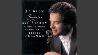 Solo Violin Sonata No. 1 in G Minor, BWV 1001: IV. Presto