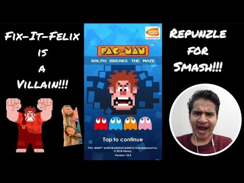 Disney & Pacman For Wreck It Ralph 2!!! (Pacman:Ralph Breaks The Maze)