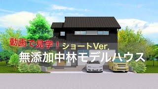 【動画で見学!】無添加中林モデルハウスショートVer.(カレッジタウン富陽)