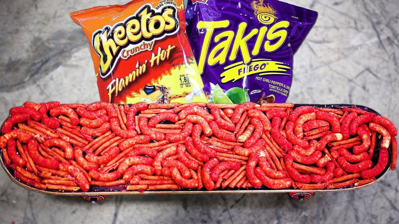 Hot Cheetos And Takis Skateboard Youtube