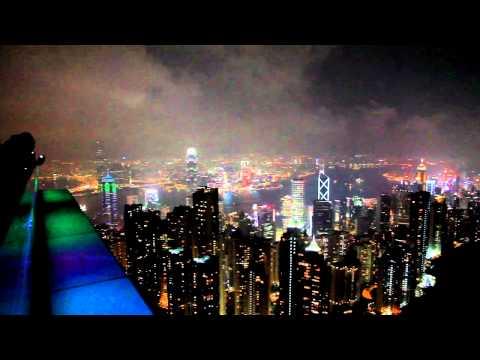香港太平山纜車及俯瞰夜景之旅-20111022-賴鵬智攝