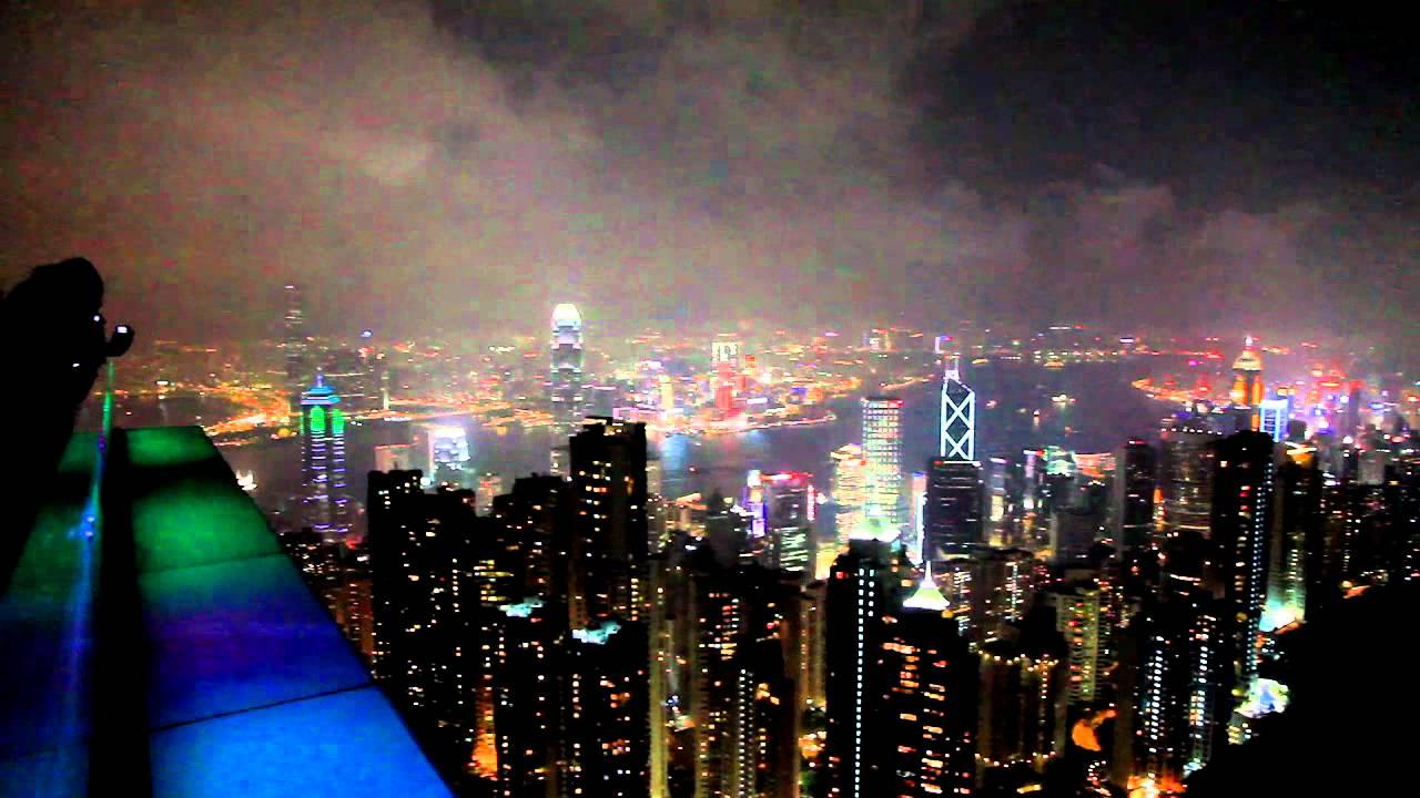 香港太平山纜車及俯瞰夜景之旅-20111022-賴鵬智攝 - YouTube