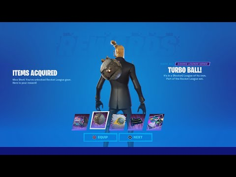 How To Do The LLAMA RAMA Challenges In Rocket League For Free Rewards In Fortnite! (Llama Rama)