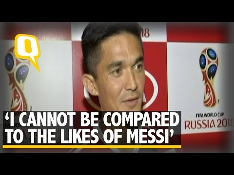 Cannot be Compared to the Likes of Lionel Messi: Sunil Chhetri | The Quint