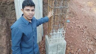 Reinforcement for Square column 18 inch