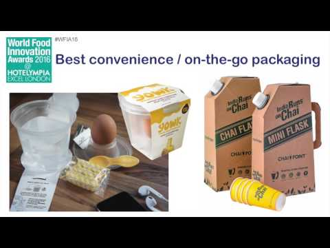 IFE World Food Innovation Awards – best convenience/on the go packaging