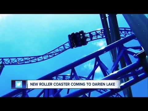Darien Lake unveils new roller coaster