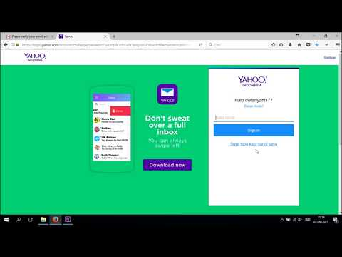 Sebelum Lupa Password Email Yahoo - Buat Email Pemulihan (Recovery Email)