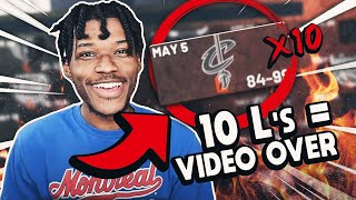 if i lose 10 games, the video ends in nba 2k21