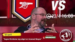 Gusten Dahlin, Kristian Borell och David Fjäll synar söndagens Euro...