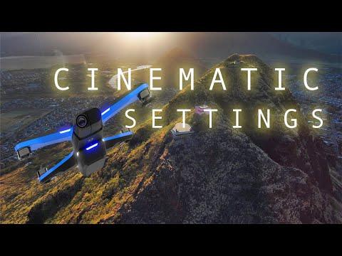 Skydio 2 CINEMATIC SETTINGS