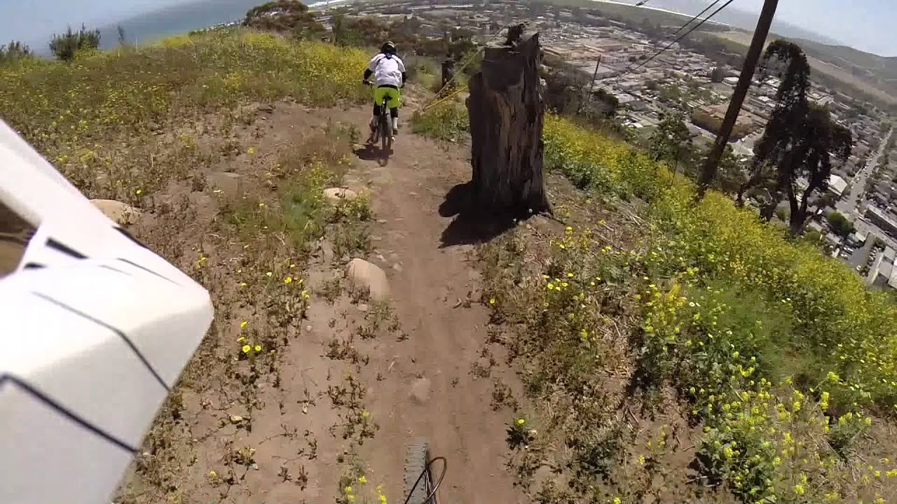 The Cross Downhill Trail Ventura Ca Youtube