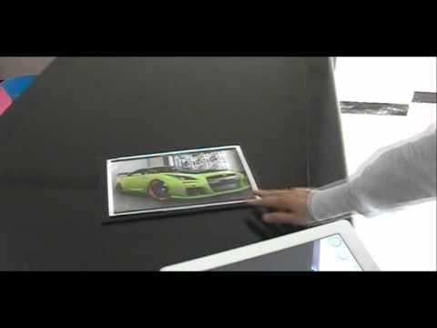 Augmented Reality Car - Interactive with Users