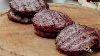 Burgers cooked on the Weber Electric Pulse 2000, Charcoal 57cm Mastertouch & the Gas Spirit II