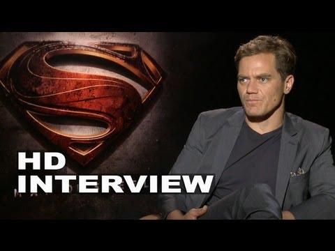 Man of Steel: Michael Shannon Interview