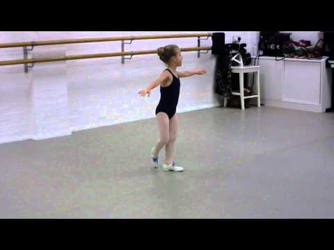 5 year old tap dancer