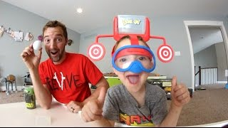 FATHER & SON PLAY DUNK HAT! / Don