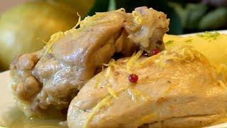 Le poulet au citron de Menton