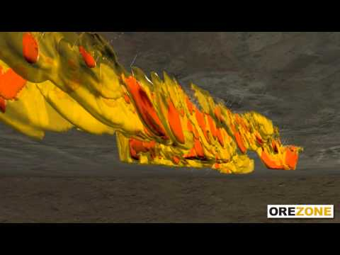 Orezone Gold -- Bomboré 3D Fly-Through