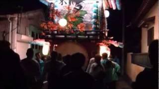 2011年 静岡県湖西市入出 白山・西宮神社例大祭