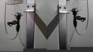메모루브 자동구리스주입기 설치 작업