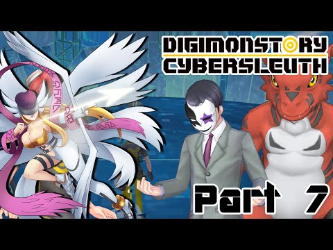 Let's Play Digimon Story Cyber Sleuth - Part 7 - Get Dunked On, Satan
