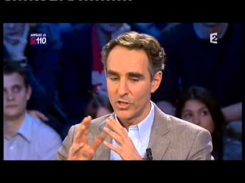 David Servan-Schreiber - On n'est pas couché 27 mars 2010 #ONPC