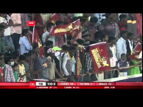 CCL 5 Final Telugu Warriors Vs Chennai Rhinos 2nd Innings Part 4/4