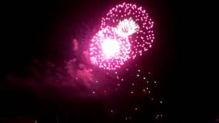 Seenachtfest Konstanz Kreuzlingen 2014 Feuerwerk