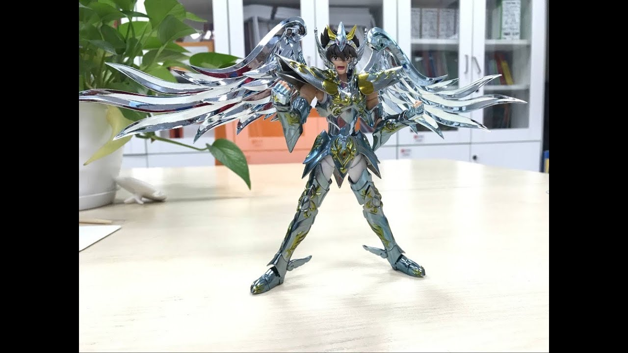 Saint Seiya Myth Cloth EX Hyoga du Cygne V3 Aurora Model Metal CS Model