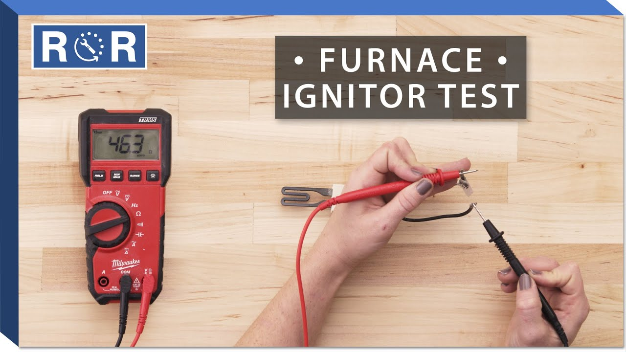 Nordyne 903758 Continuity Test Gas Furnace Ignitor Youtube Ideal Receptacle Gfi Circuit Tester Voltagecontinuity Pricefalls