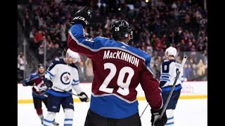 Nathan MacKinnon Highlights 2018-19