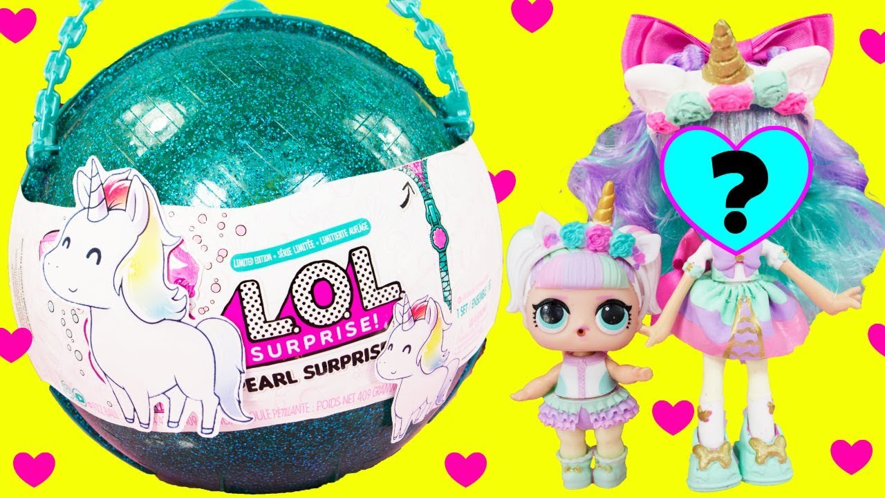 Lol Surprise Unicorn Ball Big Sister Pearl Surprise Custom