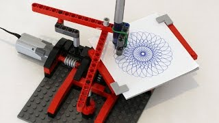 LEGO Drawing Machine (Spirograph)
