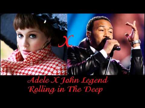 Adele vs. John Legend - Rolling In The Deep (Johnnier Duet Mix)