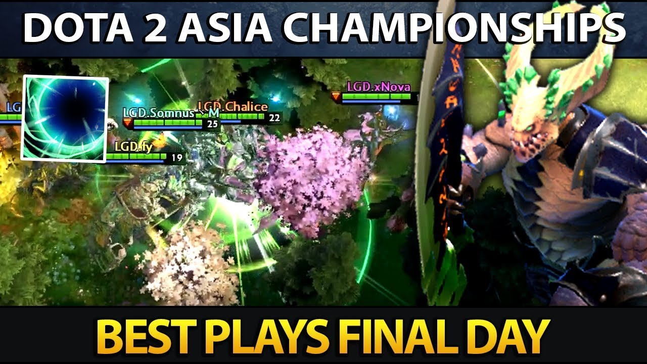 Dota 2 Asia Championships 2018 – Best Plays Final Day
