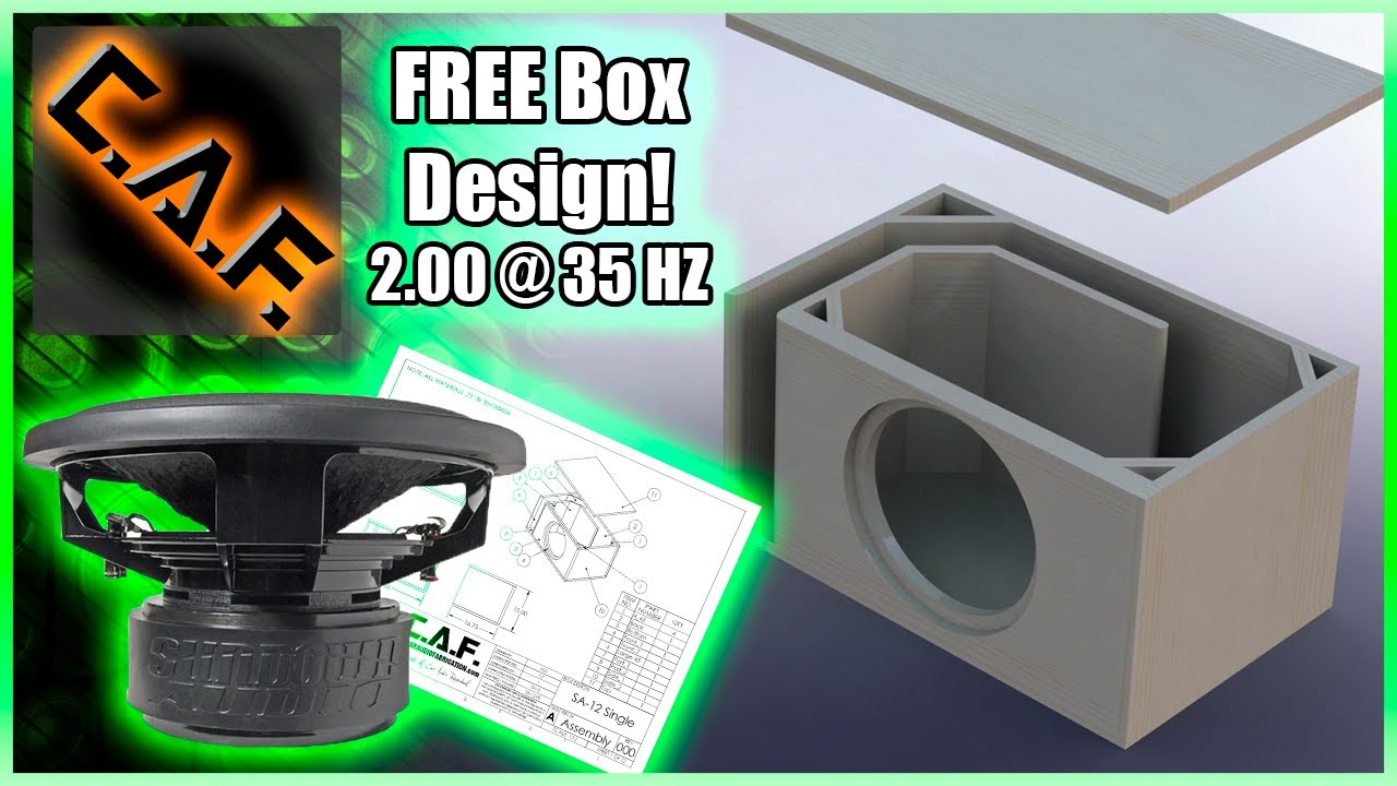 Sundown Sa 12 Subwoofer Box Design Free