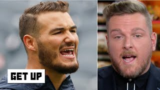Pat McAfee blames coaching for Mitchell Trubisky's struggles   Get Up