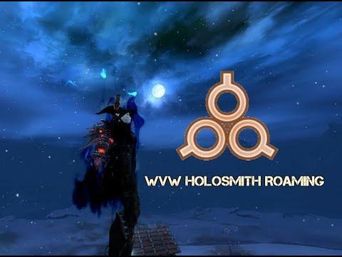 Guild Wars 2 - Holosmith WvW roam.